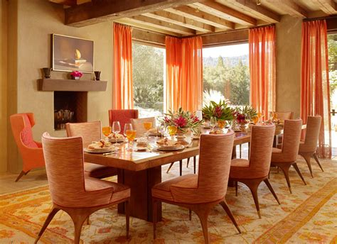 orange dining rooms living room ideas chocolate brown cranberry brunt orange