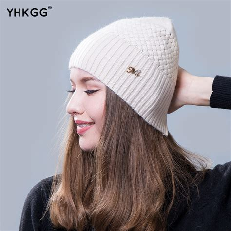 2016 new beanie hats ms warm winter wool hat