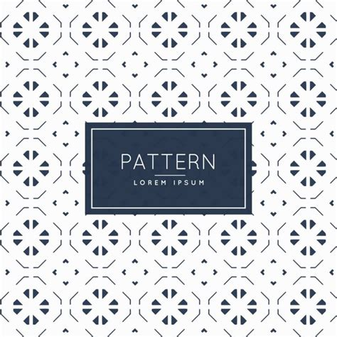 abstract pattern minimal minimal geometric pattern with abstract shapes vector