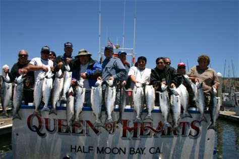 rock the boat queen of hearts queen of hearts sportfishing fishing report pillar point