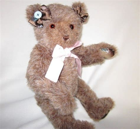 handmade teddy bears and raggedies handmade vintage