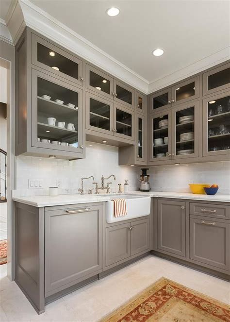 Kitchen Cabinet Paint Colors by Cabinet Paint Color Is River Reflections From Benjamin