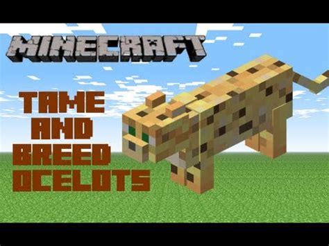 Minecraft Papercraft Ocelot - minecraft breed ocelots