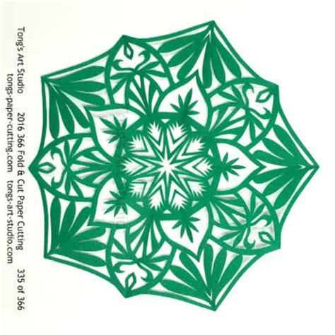 Folding And Cutting Paper - 2016 fold cut paper cutting challenge november collections
