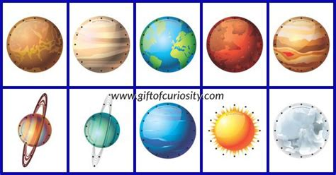 solar system trading cards template high school 20 best images about solar system on mini