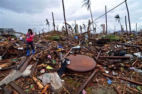 Is Devistated by Relief Effort Continues In The Philippines After Typhoon