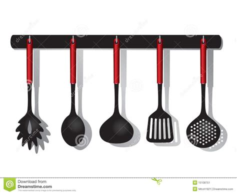 Kitchen Rack Design by Kitchen Tools Stock Image Image 15108751