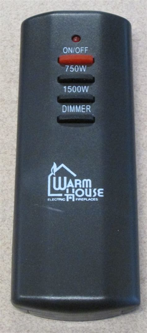 Fireplace Remote Replacement by Warm House Electric Fireplace Replacement Remote