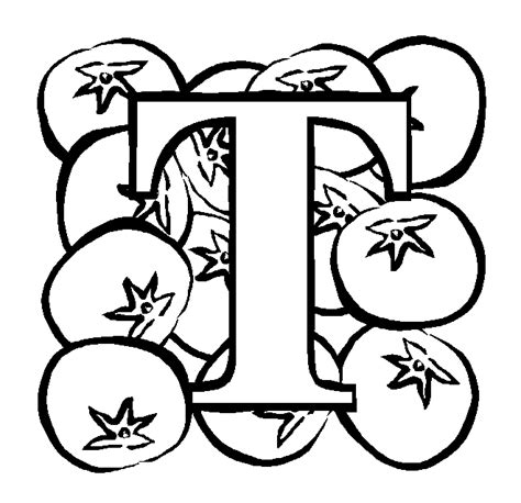 coloring page letter t free coloring pages of fancy letter t