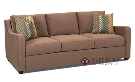 savvy sleeper sofas customize and personalize glendale queen fabric sofa by