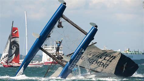 extreme catamaran sailing racing retracing artist turner s footsteps cnn