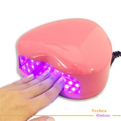 Are Uv Nail Ls Dangerous by Pink Shape L Light Led Uv Gel Salon Nail