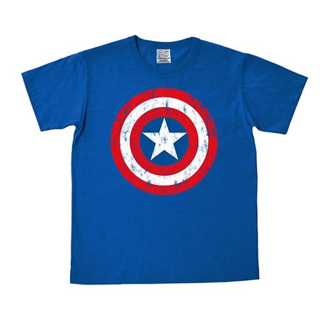 Tshirt Captain America 01 Distro Captain America 02 buy t shirt captain america shield azure blue