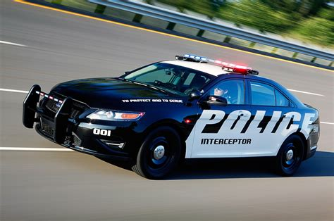 police car ford police interceptor fastest cop car in michigan state