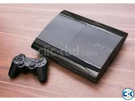 Ps3 Slim Hdd 500gb 1 Stik Warless ps3 playstation 3 slim 500gb console clickbd