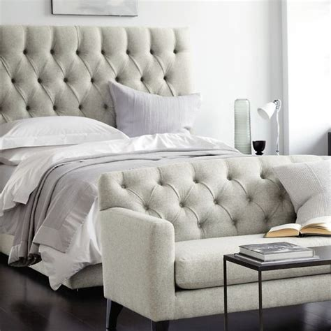 white company sofa richmond deep buttoned tufted bed and sofa the white
