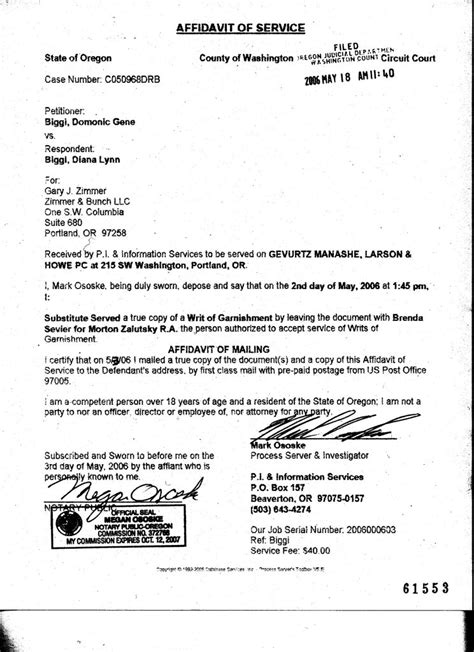 Award Letter Child Support Loaded Orygun Deadbeat Domonic Biggi