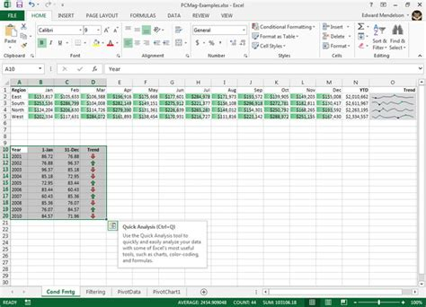 quick layout button excel how to add headers and footers in excel 2013 itproportal