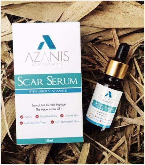 Serum Azanis design hilangkan parut dengan azanis serum