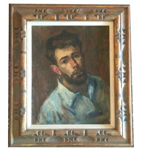 thomas  strickland  portrait oil impressionist