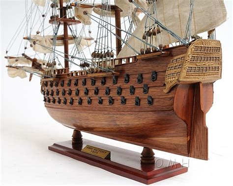 Ship Wood Lord Nelson S Flagship Hms Victory Wooden Scale Model