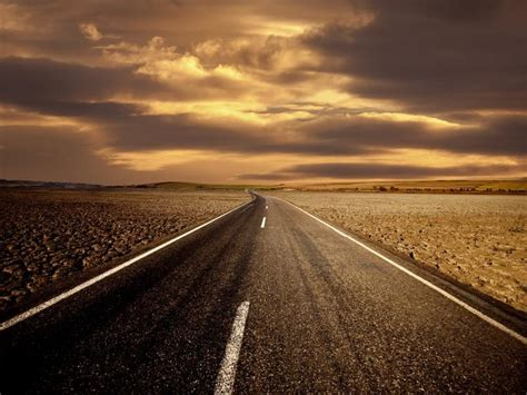 road image backgrounds  powerpoint templates