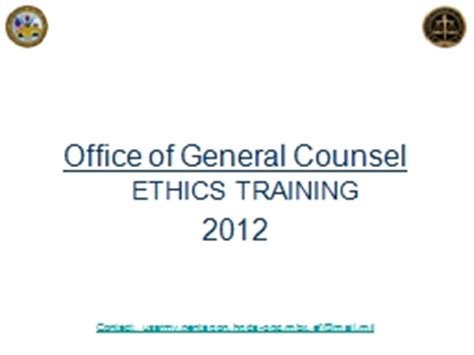 Office Of General Counsel 1 greg walch general counsel powerpoint presentation ppt