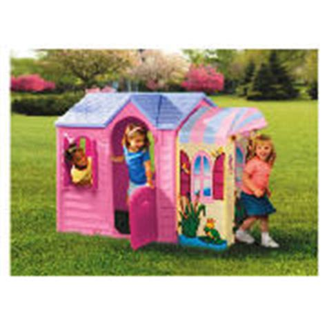 tikes evergreen garden cottage tikes playhouse