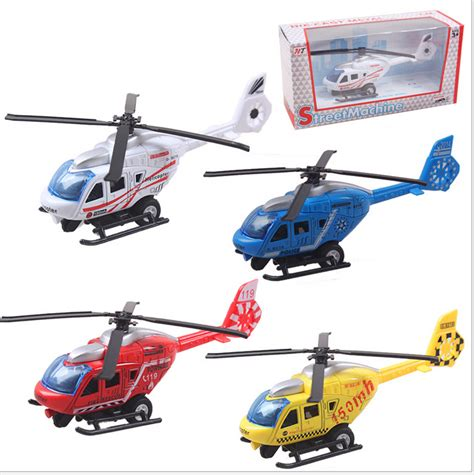 Helicopter Metal Model 1 64 scale helicopter model toys diecast helicopter