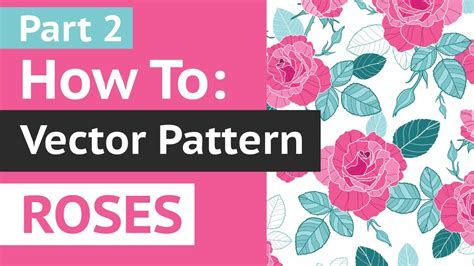 repeat pattern illustrator youtube live tutorial part 2 how to create vector repeat pattern