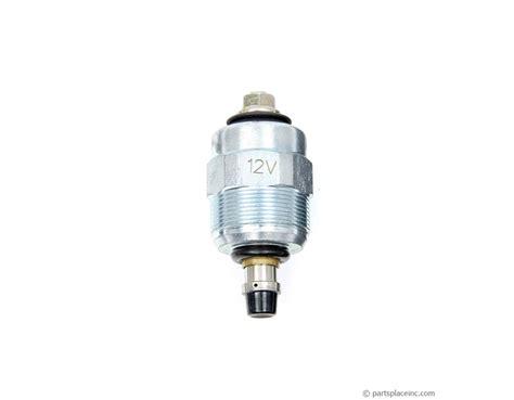 vw diesel fuel shut  solenoid diesel cutoff solenoid