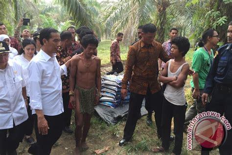 film dokumenter suku pedalaman jokowi presiden ri pertama kunjungi suku anak dalam