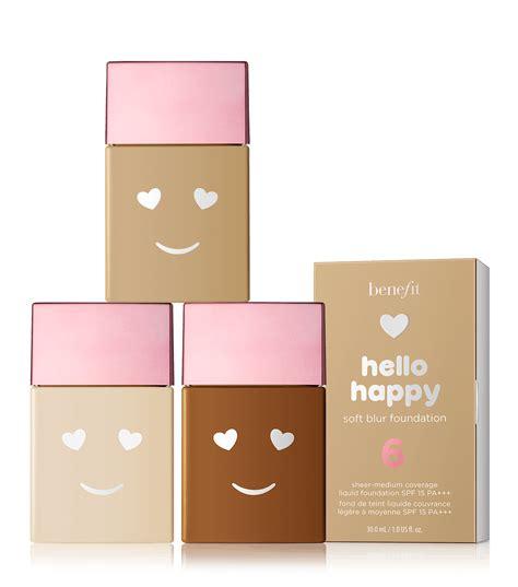 hello happy light medium coverage liquid foundation