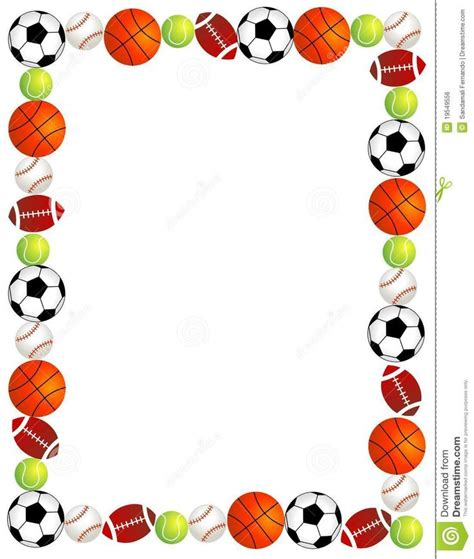 lined paper with sports border 25 best images about scrapbooking backgrounds on pinterest