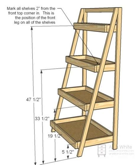 diy ladder shelves ladder shelf diy dwell well living