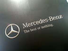 Mercedes Slogans The Best Or Nothing Flickr Photo