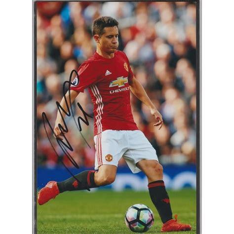 ander herrera manchester united signed signed photo of ander herrera the manchester united