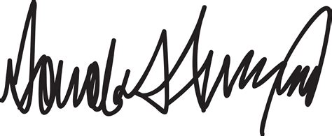 Donald Trump Signature | my thoughts on presidential signatures the driver suit blog