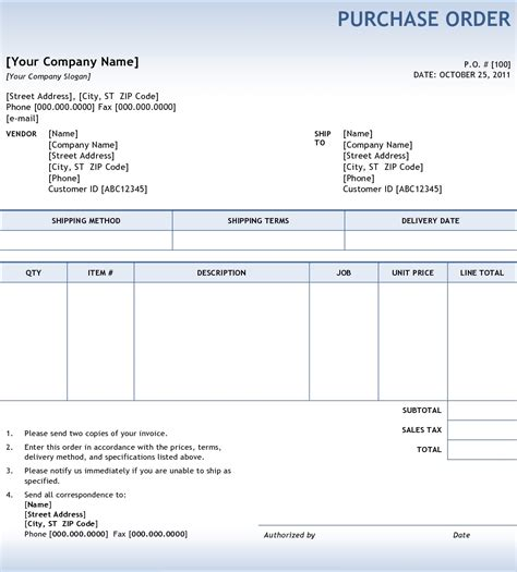 purchase orders and invoices invoice template ideas
