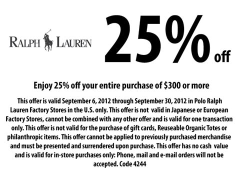printable polo outlet coupons marein ralph lauren polo outlet coupon printable