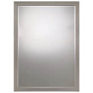 a closer look at bathroom accessories brushed nickel mirror