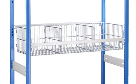 wire basket shelving system modular wire baskets for the trimline shelving system