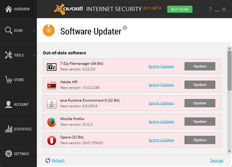 software updater for android image antivirus software update