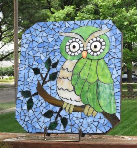 mosaic pattern cause 167 best mosaics owls images on pinterest mosaics
