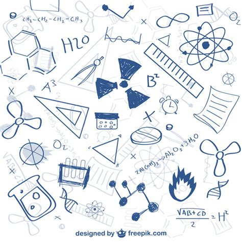 doodle pattern vector free science doodle pattern vector free download