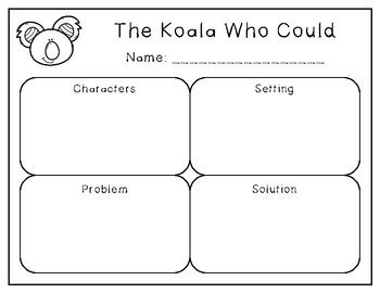 the koala who could the koala who could book activities by emken s creations tpt