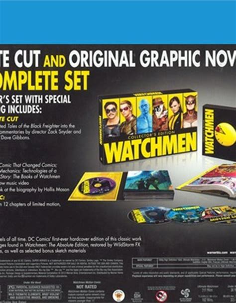 Watchmen The Ultimate Cut Dvd watchmen ultimate cut graphic novel 2009 dvd empire