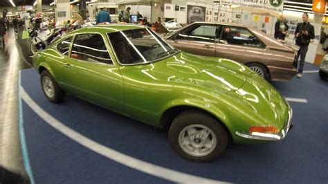 opel green opel gt car fantastic green colour