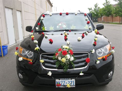 decorate your car for wedding car decoration in brton mississauga and