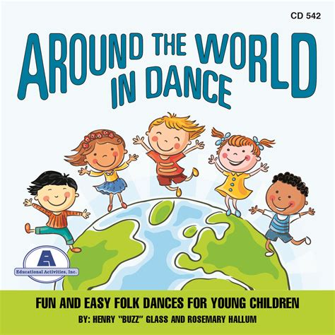 around the world in multicultural songs and dances 3 cd set